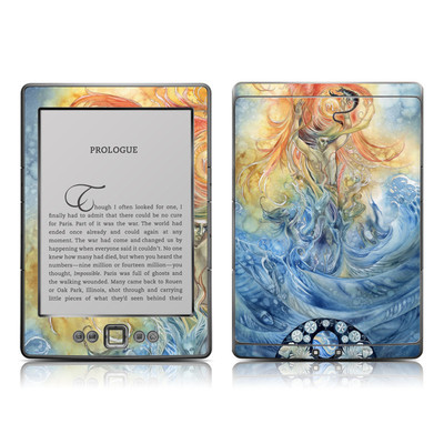 Kindle 4 Skin (High Gloss Finish) - Scorpio