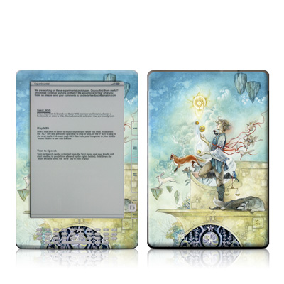 Kindle DX Skin (High Gloss Finish) - Libra