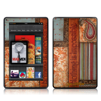 Kindle Fire Skin (High Gloss Finish)   Be Inspired