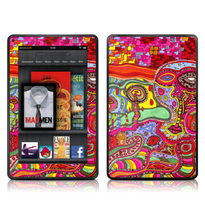 Kindle Fire Skin (High Gloss Finish)   The Wall