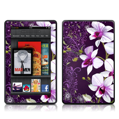 Amazon Kindle Fire Skin (High Gloss Finish) - Violet Worlds