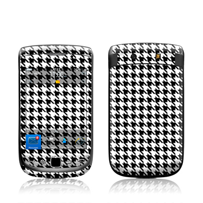 BlackBerry Torch Skin (High Gloss Finish) - Houndstooth