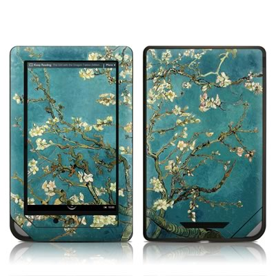 Barnes and Noble NOOKcolor Skin (High Gloss Finish) - Van Gogh - Blossoming Almond Tree