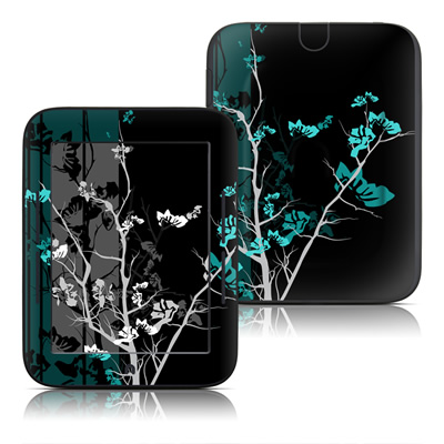 Barnes and Noble Nook Touch Skin (High Gloss Finish) - Aqua Tranquility