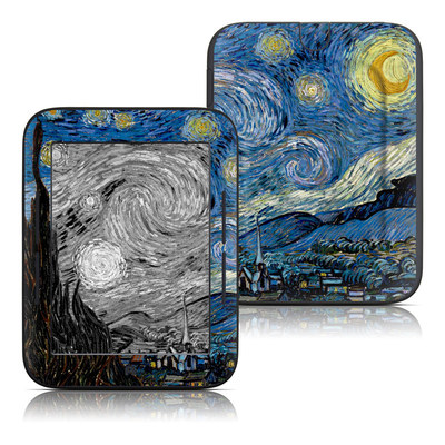 Barnes and Noble Nook Touch Skin (High Gloss Finish) - Starry Night