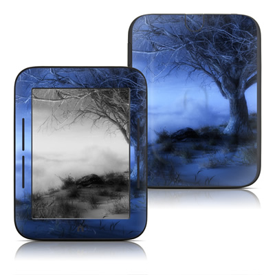 Barnes and Noble Nook Touch Skin (High Gloss Finish) - World's Edge Winter