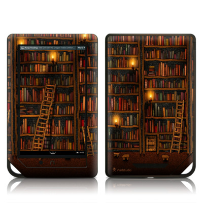 Barnes and Noble NOOK Tablet Skin (High Gloss Finish) - Library