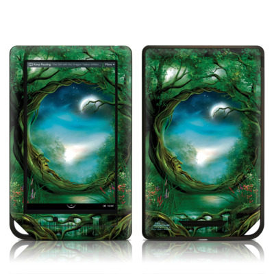 Barnes and Noble NOOK Tablet Skin (High Gloss Finish) - Moon Tree