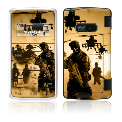 LG enV2 Skin (High Gloss Finish) - Desert Ops