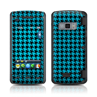 LG enV Touch Skin (High Gloss Finish) - Teal Houndstooth