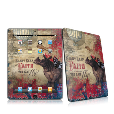 iPad Skin (High Gloss Finish)   Leap Of Faith