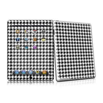 iPad 2 Skin (High Gloss Finish) - Houndstooth