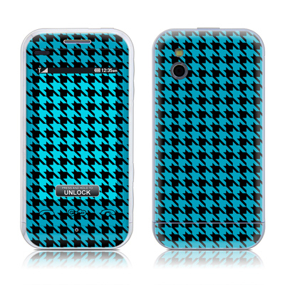 LG Arena Skin (High Gloss Finish) - Teal Houndstooth