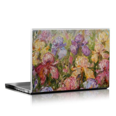 Laptop Skin (High Gloss Finish)   Field Of Irises