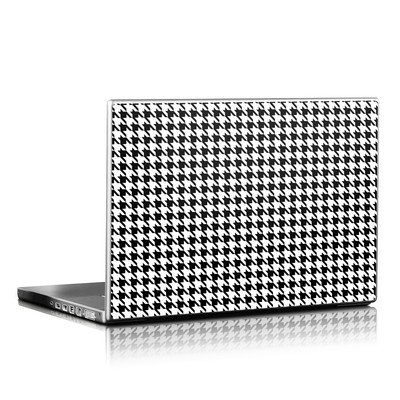 Laptop Skin (High Gloss Finish) - Houndstooth