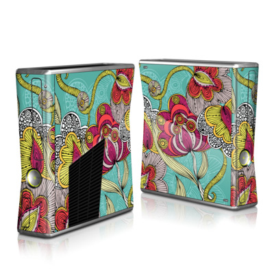Xbox 360 S Skin (High Gloss Finish)   Beatriz