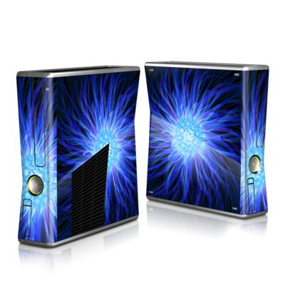 Xbox 360 S Skin (High Gloss Finish)   Something Blue